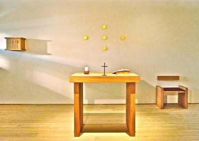 Stilte-kapel   Ziekenhuis AZ Maria Middelares  Gent